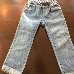 Old navy straight cuffed jeans toddler